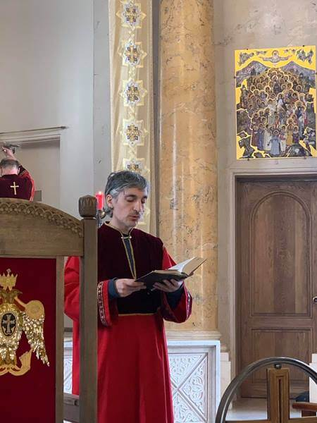 Праздник Вознесения Господня в армянской церкви Святой Екатерины СПб